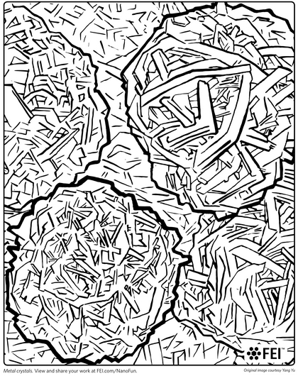 neodymium hydrangea metal crystals download this coloring sheet