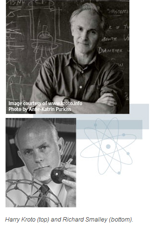 Harry Kroto and Richard Smalley